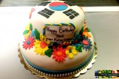 торта с корейски мотив
