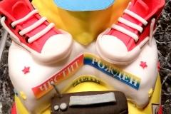торта за танцьорка