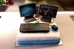 торта за компютърен специалист