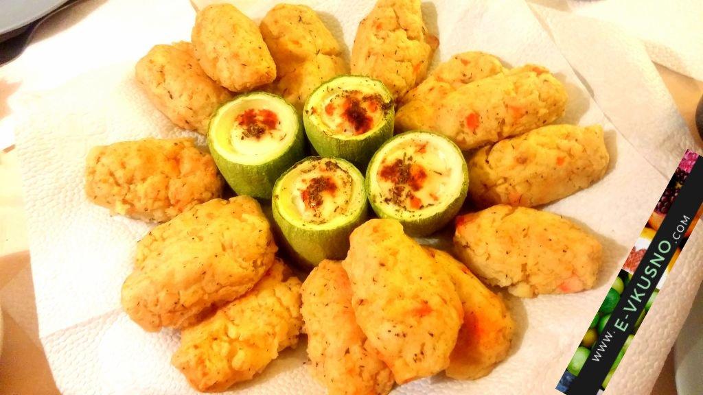 Картофени пурички… с моцарела