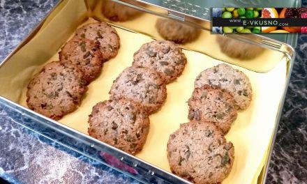 Бисквитки с тиквено семе