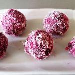 Сурови бонбони с червено цвекло